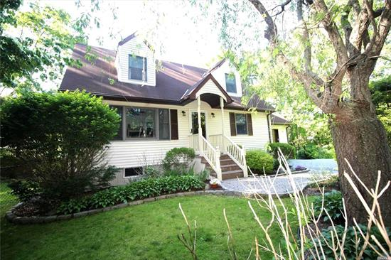 Spacious three bedroom Cape Cod tucked away on a quiet street. You will be impressed by the quality and care in this home- great layout and spacious bedrooms with plenty of room for everyone. Complete with beautiful yard with sprinkler system, finished basement with bath, hardwood floors, and new appliances. Call for an appointment today!