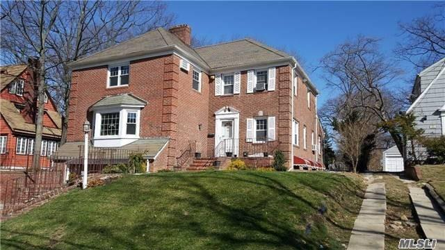 Spacious 5 Bedrooms 4.5 Baths Brick Colonial House For Rent In Jamaica Estates. Homes Features Circular Stairs, Formal Living / Dining Room, Eat In Kitchen, Fireplace. First Floor Master Bedroom With Full Bath. Second Floor Boosts 2 Master Bedrooms & 2 Additional Bedrooms. Located Close To Transportation , Shopping , House Of Worships, & St. Johns University.
