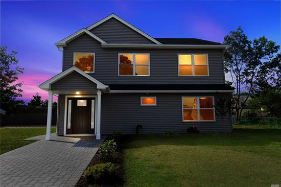 Gorgeous new home with 5 large bedrooms on enormous park like lot. Plenty of room to add garage or pool for the backyard entertaining space of your dreams! Beautiful kitchen with white cabinets and quartz countertops. Huge open living room /dining room with tremendous space for family gatherings. There is a separate first floor bedroom and full bath and a 2nd floor master suite with spa like bathroom. Don't miss this opportunity to own a beautifully designed home at a great price!