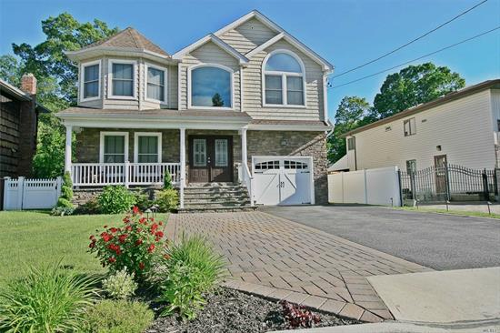 Nestled in the Twin Lakes enclave of Wantagh, this elegant & stoic colonial built in 2013 sits on a fully fenced 240' deep lot! Built by established local builder w/ eye for excellent finishings & a stellar work product.Tons of upgrades & extras added:Fin'd basement, smart app Sprinkler system. Hard wired LED lawn lights, soffit lights, chandelier lift, $13K in custom blinds, Video Security System, pavers in front & back, & more! Rare opportunity to purchase a young home on a huge lot!