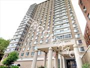 FULLY RENOVATED XLG 1BR/JR4 24HR LUXURY HIRISE DOORMAN BLDG * GYM * ROOFDECK * GARDEN * E/F/LIRR<br><p>  Luxury Forest Hills Experience! Come Home to Feel-Good Pleasant Living Everyday!<br><p> Gorgeous Corner Apt on High Floor of Luxury 24hr Hirise Doorman Building<br><p>   MANY EXCITING FEATURES<br><p> - Cutting Edge Design, Refined Workmanship, Pristine Throughout. Backlit Crown Moldings Throughout. Customized Built-ins, Rich Wood Floors<br><p> - Gourmet Chef's Kitchen with Granite Counters and Stainless Appliances. Exquisite Remodeled Bath with Spa-Style Showerheads <br><p> - Deep Living Room with Separate Dining Area. Pocket Doors Create Guest Room/Office. King Size Bedroom. Custom Closets. <br><p> - Very Generous Closet and Storage Space Throughout<br><p>  SUNDRENCHED HIGH FLOOR<br><p> - Bathed in natural sunlight. Excellent Exposure. Breathtaking Views on NYC Skyline with Total Privacy<br><p>   THE PARK LANE NORTH: TOP-TIER FULL SERVICE HIGH RISE<br><p> - One of the finest and select 24hr doorman luxury buildings. Complete amenities include free use of new gym/fitness center, theater room and lounge, furnished rooftop terrace, communal garden with grills, bike room,  package service, recorded surveillance system, shareholder account software, hi-tech 24hr laundry room, indoor/outdoor parking, prestigious new lobby, distinguished new hallways, new modern elevators<br><p> - Co-gen electricity-generating energy efficiency system recently installed and implemented. Co-gen system together with the numerous building upgrades and additions reflect the forward looking strategy of a very proactive, enthusiastic, and healthy co-op<br><p>  EXCELLENT LOCATION<br><p> - Immediately adjacent to Forest Hills Gardens and picturesque Forest Park<br><p> - Just 2 short blocks to E/F express train, and 3 blocks to Lirr station (19min to Penn Station). Easy stroll to all shopping and restaurants.<br><p> - Conveniently located near all major highways. Quick ride to JFK, Q10 and Q46 to St John's just steps away. <br><p> - Zoned for PS101 acclaimed Forest Hills Gardens elementary school<br><p>  SOLID INVESTMENT<br><p> Generous sublet policy of unlimited sublets after 3 years of residence is ideal for future cash flow and asset protection. Forest Hills has demonstrated steady and reliable growth for decades, and continues to offer tremendous upside potential, especially with a distinct property such as this one
