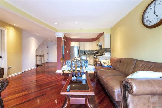 Huge Legal 3 Family with Full Basement, 2 Bedrooms p/Floor, Private Finished Yard and 2 Balconies with Manhattan Views.