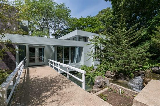 Large Amazing Contemporary 6 Br, 4 Bath, Finished Walk Out Lower Level. Must See To Believe! Sold As Is. Beach & Mooring Rights. Dues Required.