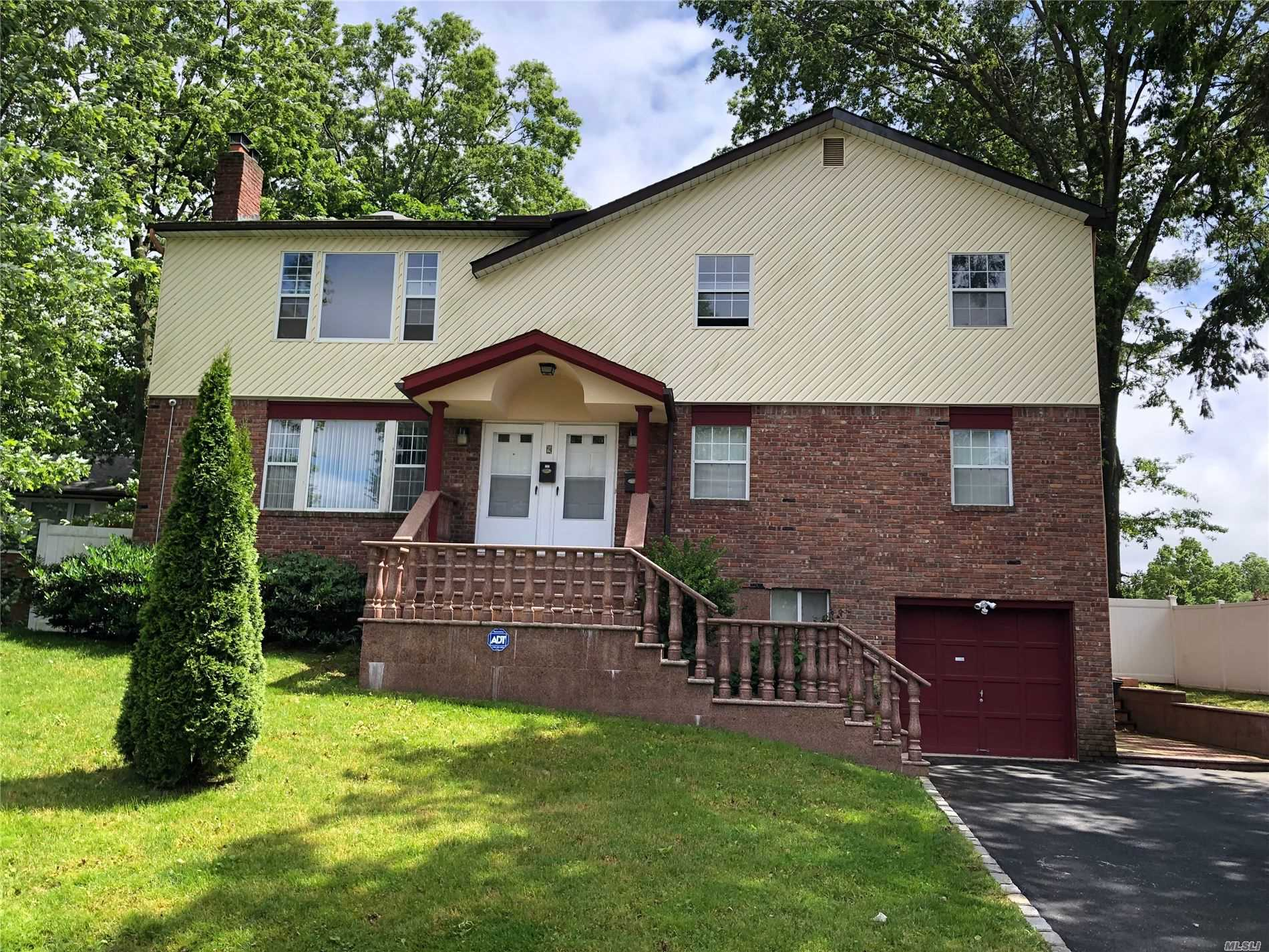 Spacious 3 Bedroom, 2 Bath Apartment On 2nd Floor. Large Living Room W/ Wood Burning Fireplace, High Ceiling, Dining Room, Balcony, Eat-In Kitchen, Master Bedroom, BR W/ Full Bath And Walk-In Closet. 2 Additional Bedrooms And Full Bath. Laundry.