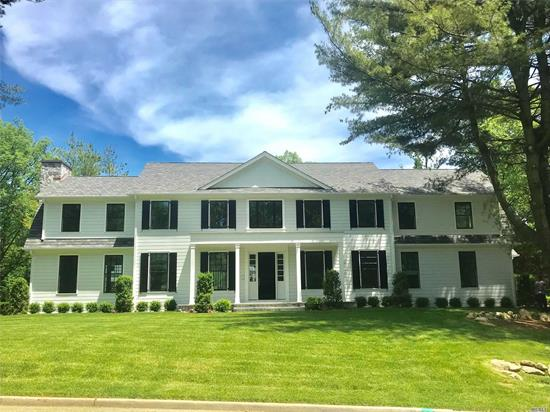 Magnificent 2019 4963 Sq Ft. Over 1/2 Acre . 5 Bedrooms, 5.5 Full Baths, Guest Room w. Private Entrance, 2 Car Garage, Top Of The Line Appliances, 3 Zone CAC & Heating, Special Amenities.