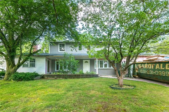 Beautifully renovated 4BR, 4Bath Colonial, mid block location, complete with new siding, new roof, new windows, EIK with new cabinets and SS appliances, new bths, gas Fireplace, landscaping, pavers, porch, trex deck, inground pool, 2 car garage, Full Finished walk out Basement, gas heat, Cental air/ HVAC. Best value on the nicest street, close to all shopping, parks, houses of worship, schools, parkways, highways and great restaurants. KItchen install w/ cabinets & appliances are extra.