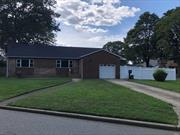 Beautifully Renovated Brick Ranch located in Massapequa SD23. New Windows on first floor, refinished hardwood floors, new high hats, new concrete patio, freshly painted, roof approx. 2 years, hot water heater approx. 5 years, 150 AMPS, New Entry Door., Attached Garage with Inside Entry. Too much to mention!!