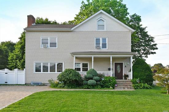 Magnificent 7 Bedroom Colonial Featuring: Hardwood Floors Throughout, 1st Flr -Large Livingrm, Eat In Kitchen, Diningrm/Sunrm, Master Bdrm With A Fireplace, 2 Add'l Bdrms, Full Bath. 2nd Flr -Large Livingrm, Full Bath, 4 Large Bdrms. Full Finished Basement With Full Bath, Laundry, Utilities, Storage, Two Large Rooms With An Outside Entrance, Attached Shed, Beautifully Maintained, Inside and Out A Must See! Close To Downtown Restaurants, Movie Theatre, Parks, Beaches, Golf Courses!