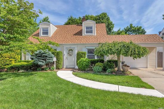 Move Right Into This Gorgeous Cape. The Home Features An Oversized Master Bedroom, Updated Eat-In Kitchen With New Appliances, Formal Dining room, Living Room, And Updated Bathroom. Upstairs Features 2 Bedrooms And Full Bath.