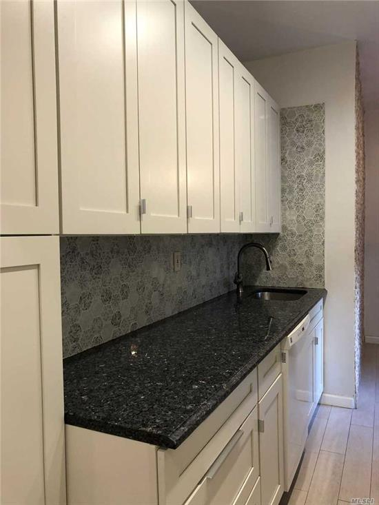 Luxury Apt, Layout design by architect designer. Plenty Of closets. Kitchen W/ Granite Counter Tops. High ceiling Top Material. Custom made Cabinets. 1 bedroom converted to Jr4.