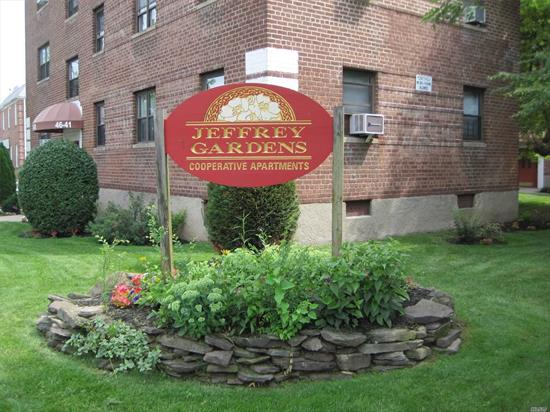 Buy Directly From Sponsor! 2 Br Apt. At Jeffrey Gardens. No Flip Tax. Pool In Complex. Ample Street Parking. Garage Waiting List.