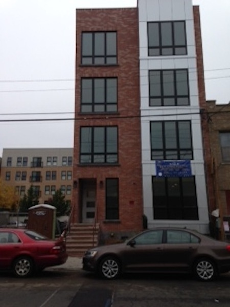 New construction. Luxury condo with high end finishes.