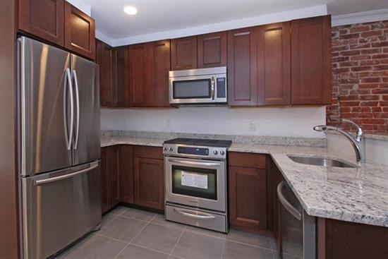 Newly renovated 2 bed 1 bath located on one of Hoboken's most desirable streets. Amenities include modern kitchen with granite counter tops, SS appliances, gracious floor plan, central air/heat , and washer/dryer in unit. AMAZING PRIVATE BACKYARD / Easy access to NYC transportation and Hoboken restaurants.