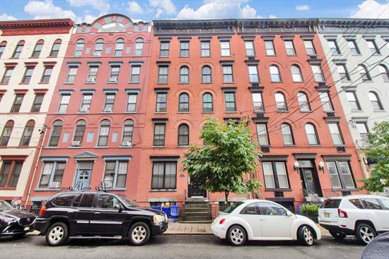 Beautiful 2 bed 1 bath in the heart of Hoboken. Hardwood floors, crown molding, granite counters, SS appliances, large open kitchen/living room.French doors & large windows. Surround sound in every room. Beautiful marble bath too.