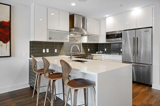Located In A Boutique, Steel/Concrete Constructed, High-End Condominium Building, This Oversized 2710Sf 4Bed/3.5Bath Duplex Home Comes With A Very Large Private Roof Top Terrace (722Sf) And 2(!) Full Size Garage Parking Spaces. This Is The Only Duplex Unit In The Building Where You Do Not Have To Access Your Private Roof Top Terrace Through A Bedroom.  The Nice Open Floor Plan Makes This Unit Feel Even More Spacious Than Its Already Generous Square Footage. All Large Oversized Bedrooms With Tons Of Storage And The Master Bedroom Has Separate His And Hers Walk-In Closets.  The Gourmet Kitchen Features Viking Appliances Incl. A 6 Burner Stove And A Hood That Vents To The Outside. The Unit Has Beautiful Wide Plank Floors, Custom Closets And All Automated Window Treatments Throughout. Elan Smart Home Technology (Incl. Tv & Audio) Allows You One-Touch Convenience For Smart Home Control And Automation Through Custom Displays Or Right From Your Phone.   All This Conveniently Located Within A Quiet Neighborhood In Midtown Hoboken. Amid Parks, Shops And Nyc Transport.