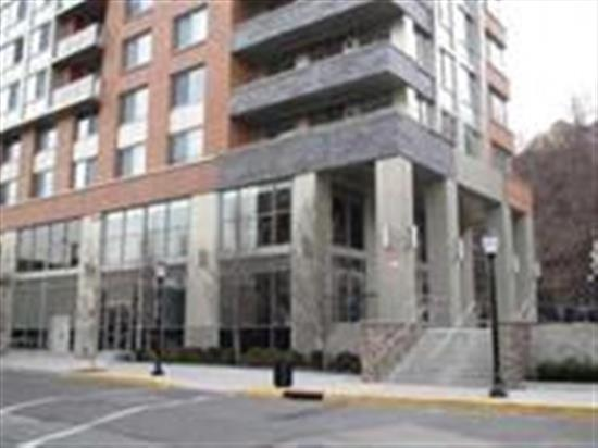 Built in 2008 w/20 year pilot tax program. Large well built luxury building located next to 9th street station of Hudson County Lightrail. California closets through out & walk in closets in master bedroom, master bath has 2 sinks, stainless appliances, granite, W/d in unit, deeded parking NYC views, Empire State Bldg. and Freedom Tower from living room. (2nd level), community room, gym and roof deck makes this a desirable location to live!