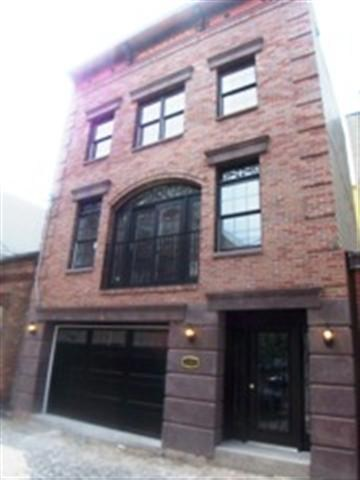 Hey Maxwell & Hudson Tea Condo Seekers... Tired of Noisy High Rise Living? Then check out this one of a kind, Duplex Carriage Hse located on beautiful cobblestone Court St. Its feels like a Soho brownstone! 2 BR's /2 Baths over 2 car garage. New Construction-of 1050 sq ft total duplex living area. Rooms are average size. Lots of Closet space and garage storage. Walk in closet. W/D in the unit. French balcony, winter view of NYC & Park. Rear private terrace fits & BBQ area 4 Blks to PATH. LOW Mait & Taxes!