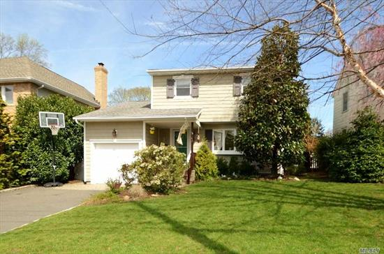 Move Right In to This 3-4 Bedroom Colonial! Ef, Lr/Fdr, Eik w/Granite Counters, Stainless Appliances & Sliders to Deck, Den/Bedroom, Full Bath. 2nd Floor; Master Bdrm, 2 Addl Bdrms, Full Bath. Full Finished Basement w/Rec Rm, Wood Burning Stove, Laundry, Utilities & Outside Entrance. Beautiful Yard. Award Wining North Shore Schools!