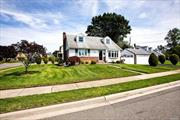 Welcome Home Into Your Large Expanded Cape On An Open Corner Property! Complete with 4 Bedrooms Filled With Light Throughout, 2 Full Bathrooms, 2 Car Garage, And A Massive Basement. Enjoy Privacy In Your Lovely Backyard For Entertaining. Incredible Opportunity To Design The Home Of Your Dreams!