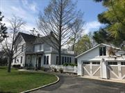 Elegant Circa 1895 Patchogue Village Home w/Wrap-around Porch, Foyer Staircase Entry to Stately LR/FDR/Den w/detailed Woodwork, 9'Coffered Ceilings, Mantel Fireplace, Fr.Doors & Medallion Chandeliers.Lg Extension adds additional Spacious Eat-In w/Sitting Area, A 6 Burner Viking/Granite Kit w/Maid Stair & Food Pantry.MBR w/adj CA Room+5Brs, Attic Game Rm & Full Bsmt, .Just blocks to Shorefront Park, Mascot Dock, Village Pool/Beach, Tennis, LIRR, Fire Island Ferries & Main Street Restaurants, Shops & Theatre