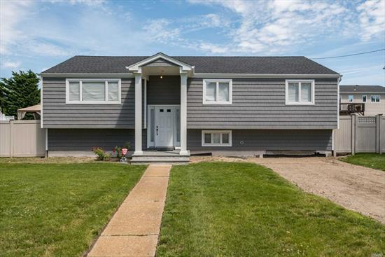 Completely Renovated, 4 Bedrooms, 2 Bath home with Large Rooms. Stunning EIK, Gorgeous Baths, New Front door and French doors in dining room, New Heating System and CAC with Nest Thermostat and RING at front door. New Roof & Siding, too much to list. Large Yard. No Flood Ins Needed.Must see...