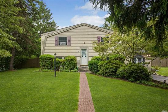 This Colonial Is A Perfect Fit For A First Time Home Buyer. Large Property Size, Surrounded by Beautiful landscapes, Features In-ground Sprinklers & Above Ground Pool. Inside Spacious Eat-in Kitchen Near A Brick Fireplace. A Touch Of The Old Style Colonial With Much Potential! This Home Will Not Last!!!!!!