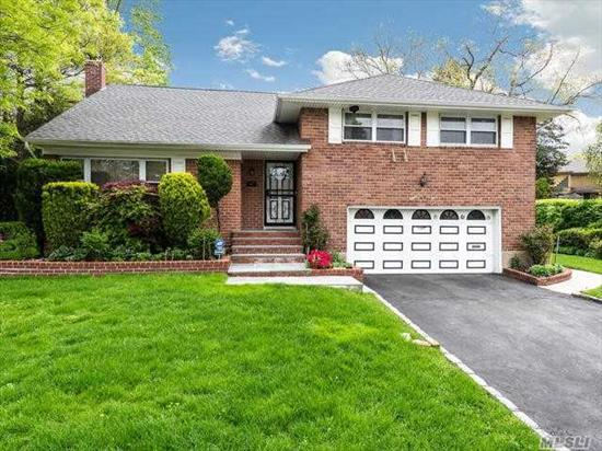 a super large split level home in the west hills section of Westbury, located in the Village of Westbury -3 to 4 bedrooms- large living room, dining room, kitchen, basement, 2 car garage Hardwood floors, large property- ca must see !!!