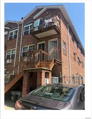 House built in 2006. Solid Brick 3 family original. MUST SEE TO BELIEVE !!