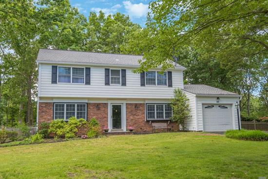 Gladstone Colonial w/ Basement! Beautifully Updated Kitchen, Oak Floors, Brand New Master Bath, CAC, Young Roof + Siding, Updated Windows. Expansive Decking Overlooking Rear .40 Acre Level Yard. Move Right in!