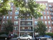 Large Bright Top floor 1BR + 1Bath coop in heart of Flushing. Close to major high way and public transportation. Excellent clean and well manage building with laundry room on every floor, updated elevators and lobby. Owner occupy coop, no sublet and no pet. Coop board interview require for approval.