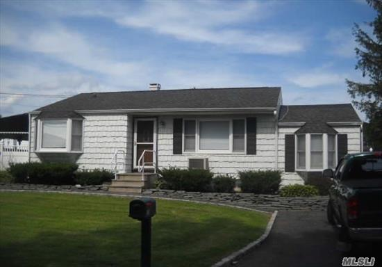 3 Bedroom with possible 4th bedroom, EIK, LV, updated bathroom, newly renovated on the main floor, deck, shed, too much to list ! A must see. This house is a possible mother-daughter house or extended family with sep entrance.  Inground sprinklers in the back yard. Brand new cesspool