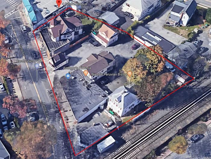 Calling All Investors & Developers!!! 100% Occupied 17 Unit Mixed-Use Property For Sale! 11 Apartments & 6 Stores Located A Few Hundred Feet Away From The Centre Avenue LIRR Station. The Property Features 8 Buildings, Excellent Signage, Solid Tenants, 30+ Car Parking Lot, Separate Meters, New Roof, New Siding, New AC Units, New Hardwired Fire Alarms, New Appliances, New Bathrooms, New Kitchens, +++!!! Tenants Include Anthony's Pizzaria, DNR Pet Grooming, Nicco's Peruvian Bistro, Elia's Elegant