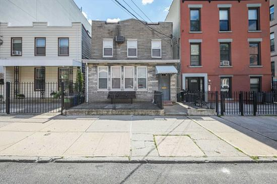 Excellent investment opportunity. This 5 Bedroom, 2 Bath home sits on a 25x100 lot in the heart of LIC. M1-4/6R Zoning. Close to G, E, M, N, Q & 7 Trains as well as the LIRR & Ferry. Close to skyline.