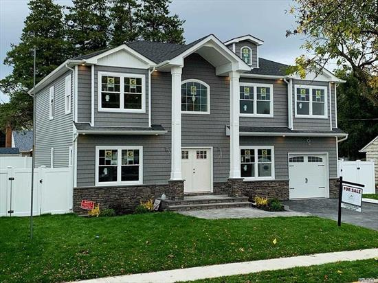 New Construction 5 bed/4 bath 3200+ square foot center hall colonial, 9.5' deep basement, bedroom w/ full bath on first floor, 2 master suites on 2nd floor, $75k in builder upgrades including 80+ hi-hats, prof. landscaping, paver patio, double driveway, PVC fence, sprinklers & more! Owner is builder/broker, completed model homes avail. for preview *** still time to customize *** 10/19 completion!!