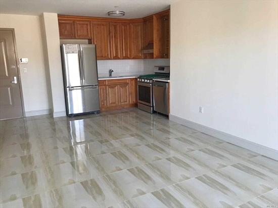 Beautiful Modern Apartment with Balcony! Indoor Parking Available for an Extra $250/Month. 8 Minutes Walk to Subway M/R Train. Near Rego Park Shopping Center. Current Tenant will move out 7/31/19.