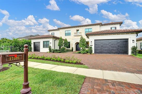 One Of The Largest Houses In The Oaks Community With 8, 252 Sqft Of Total Area. This Beautiful House Features A Heated Pool + Jacuzzi, Bar + Social Room, Private Elevator, Converted Florida Room To An Additional Living Space, In-Law Quarter 1/1 Apartment, 2 Family Rooms, Laundry Room And More. The Master Suite Comes With A Huge Walk-In Closet And The Bathroom Has Separate Toilets And It Is Dual Sink. In Total 7 Bedrooms, 6 Full Bathrooms + 1 Half Bath. This House Was Built In 2018, So Everything Is Brand New With Many Upgrades. The Entire House Comes With Intelligent Home System Connections Ready. The Pictures Speak For Themselves. Ask A Showing Asap!