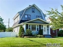 Beautiful Side Hall Colonial SD#20, 3 Bedrooms, 1.5 Bath, Traditional Inlaid Hardwood Floors, Chair/Picture Rails, High Ceilings, Updated Kitchen/Bath, LIving Room w/Fireplace, Formal Dining Room, Sunlight Playroom, EIK, Walk in Pantry, Front/rear Mud areas, Brick Patio, Full Unfinished Basement w/OSE, Walk Up Attic w/Flooring and Light, Newer Roof, Windows, Heating and Electric. Move Right In!!