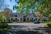 This Home Sits On A Gorgeous Estate Like Property With Over 3 Acres of Professionally Designed Landscaping, Kean Designed Salt Water Pool, Spa & Pool House w/Access From Burrwood Dr & Dock Hollow. Wonderful Light and Bright Floor Plan, Generous Size Rooms W/Large Separate Guest Suite. Truly An Exceptional Home on a Tree Lined Cul De Sac! Lloyd Harbor Beach/Camp. Property Assessed at $3, 000, 000. Taxes Are Currently Being Grieved With Amazing Reduction Potential.