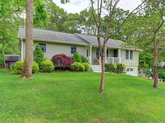Mint Updated Expanded Ranch With An Open Floor Plan Features 3 Bedrooms, 2 Full Baths, Beautiful Updated Kitchen, Extra Large Living Room, Full Finished Basement, Hardwood Floors, Oversized Property, Deck & 1.5 Car Attached Garage. Possible Mother/Daughter With Proper Permits.