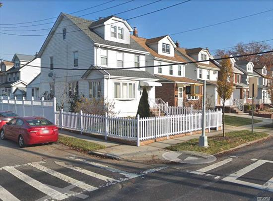 Recently Fully Renovated-- 5 months ago. Beautiful Corner Property. Sunny South Exposure Detached Colonial House In Prime Bayside Location ! 5 beds 2 bath.Detached Garage. Finished BSMT OSE laundry . Blocks to H-Mart House of Worship Restaurants Parks Afterschool Library AMC. Best Schools P.S.162, I.S.158 & Francis Lewis High School. Bus Q27 Q30 Q31 Q76 . Easy access I-295 I-495.