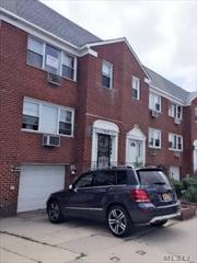 Huge & Bright 3 Brs 1.5 Bath, Garage And 1 Parking Space, Hardwood Floors, Excellent Condition, In The Heart Of Bay Terrace. Near All Major Highways, Shopping, School And Public Transportation. Laundry Room In The Building, Includes Heat $2500. Credit And Income Check Require By Owner. No Pets!!