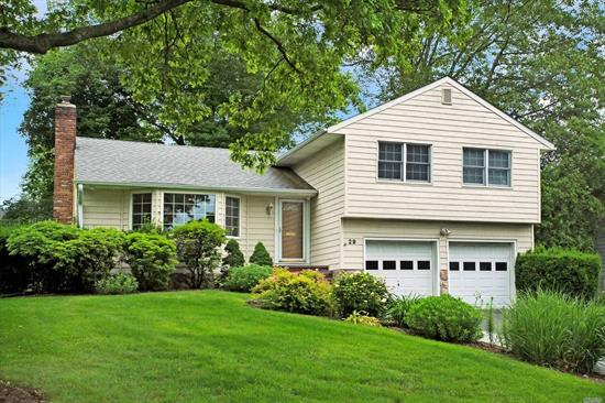 Convenient living in Highfield Estates, Close to town, shops, Middle & High Schools. This inviting home offer 3/ 4 bedrooms, with one bedroom or den on lower level with separate entry perfect for a guest or parent. Plus a basement. Gleaming hardwood floors in Living Room & Dining Room which flows into the magnificent Family Room with Fireplace. Nice sized eat in kitchen. Almost 1/4 acre of level property. SD#4
