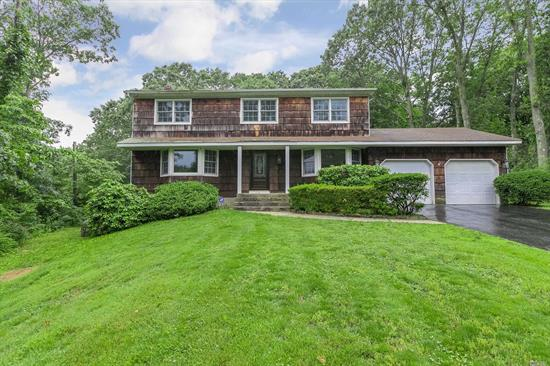 Brand new to market! This stunning 4 bedroom/2.5 bath colonial was renovated last year! Features a beautiful open concept floor plan with A spacious EF, formal living room & dining room, office/den, updated Eik, master bedroom with en-suite bath & walk in closet, 3 add'l spacious bedrooms, full family bath, hw floors throughout 1st & 2nd level, CAC, gas heat, new 200 amp elec, IGS, & New Anderson windows, all set on just over a 1/2 acre of property in a beautiful quiet culdesac -Priced to sell!