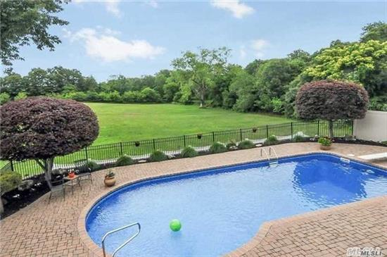 Totally Redone With Gourmet Kitchen, SS Appliances, Winter Water Views, Open Floor Plan, Gas Heat, Custom Built-Ins, Central Vac, New Master Bath, Full Finished Basement, Manicured Yard With Pool, Paver Patio, Bocce Court All Overlooking State Parkland, Close To Trails. Gas Heat, Cac, Low Taxes.