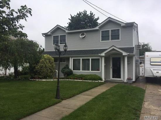 Beautifully Landscaped 4 BRS, 1Bth, Expanded Cape, Large Bedrooms, Porcelain Tile Floors, Stainless Steel Appliances, Fairly New Roof and Vinyl Siding, McVey Elementary, Low Taxes MUST SEE!!!! Seller Is Representing Garage As Is.
