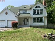 Wideline Colonial, 1st fl. Ent foyer, Eat in Kitchen, Formal Diningroom, Livingroom, Den/FP, half bth, 2nd fl. 3 bedrooms, Master/full bth, Laundry area, Full bath. Unfinished basement, 2 car garage, rear Deck, Located on Level lot and quiet street. close to transportation, shopping, town parks and beaches.