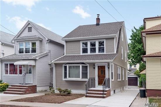Charming Detached Colonial In Fit Neighborhood. Whole House Completely Renovated Featuring 4 Bedroom, Private Driveway, Garage and Lovely Yard. Open Kitchen With Granite Counter tops, Large Island Seating Up To Four People, SS Appliances and Dutch Door Direct Access To Backyard, Fully Finished Basement With Windows, Full Bath, and Brand New Washer and Dryer. Property Available August 1st.