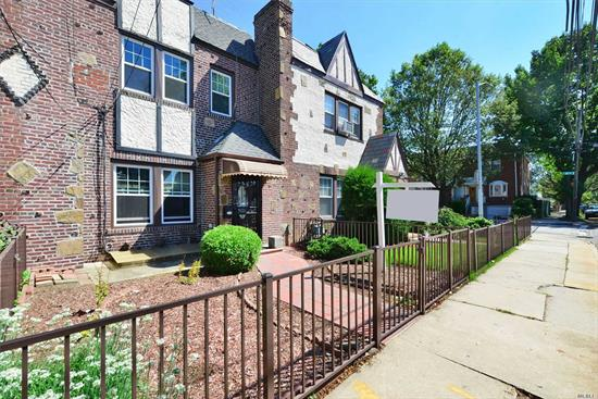 Beautiful All Brick Tudor Home In Prime Whitestone Location! Large 20x40 Building Sized. This Property With R3A Zoning Features 2 Fireplaces, Living Room, Dining Room, Kitchen, 3 Bedrooms And 2.5 Baths, Full Finished Basement With Sep/Ent + 2 Car Garage. New Windows & New Front walkway. Easy Access To All Transportation, Shopping And Schools! Must See !