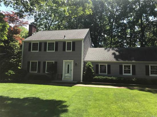 Completely redone home that is in move in condition,  New baths new eat in kitchen new four season sun room new floors new appliances new deck huge attic for storage. This home will not last.Possible rent while buying-Sept occupancy 2950 / month