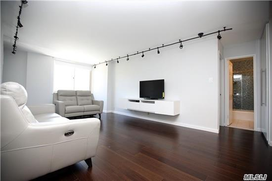 Nice, Bright And Brand New Two Bedroom Co-Op In A Luxury Building, Updated Kitchen With Top Stainless Steel Appliances. Renovated Bathroom, Brand New Oak Wood Floors Throughout, Customized Closets, 24 Hr Doorman, 1 Block To E/F Subways. Maintenance Included All Utility. Close To All.